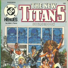 Cómics: THE NEW TITANS SOURCEBOOK EN INGLÉS DC COMICS. Lote 42626449