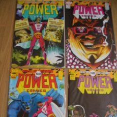 Cómics: POWER COMICS 1-4 (ECLIPSE - ACME PRESS, 1988). Lote 43150456