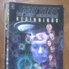 Cómics: STAR TREK THE NEXT GENERATION NºS 1 2 3 4 5 Y 6 REEDITADOS EN UN TOMO: BEGININGS. Lote 36519964