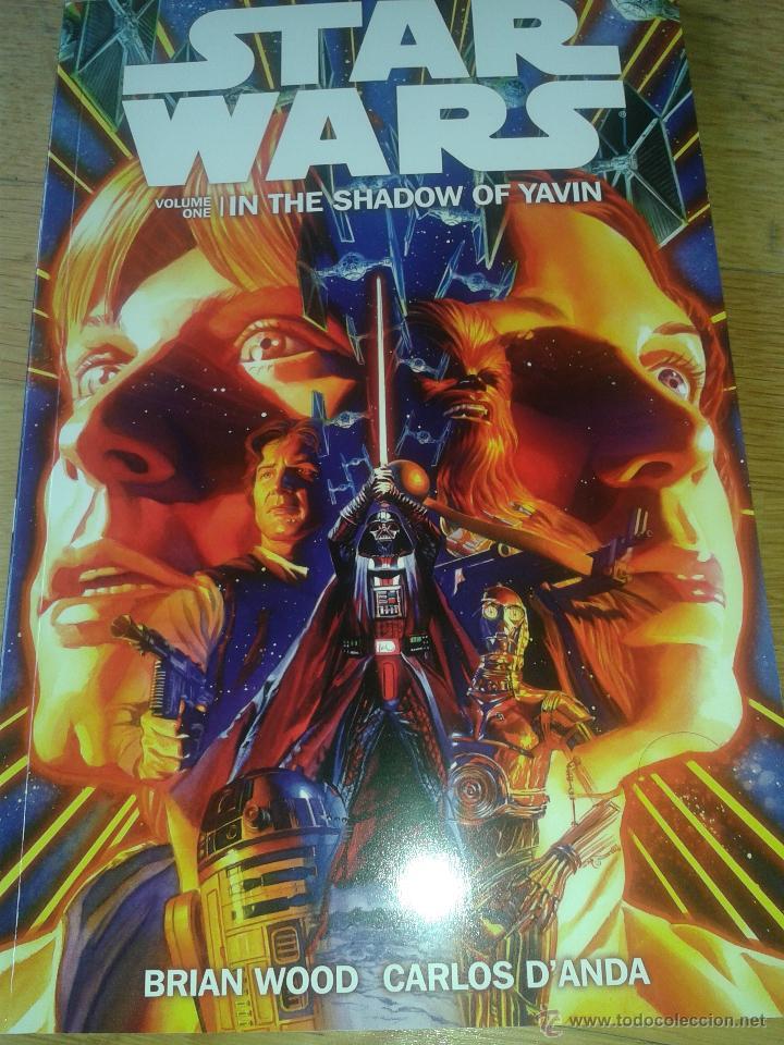 STAR WARS TPB #1: IN THE SHADOW OF YAVIN (DARK HORSE, 2013) (Tebeos y Comics - Comics Lengua Extranjera - Comics USA)