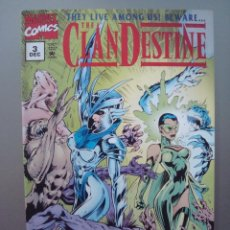 Cómics: COMICS USA - THE CLANDESTINE Nº 3 BY ALAN DAVIS, MARVEL. Lote 43377290