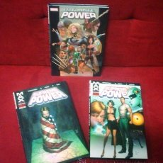 Cómics: SUPREME POWER (MAX) TOMOS 1 Y 2 + ULTIMATE POWER. Lote 43470393