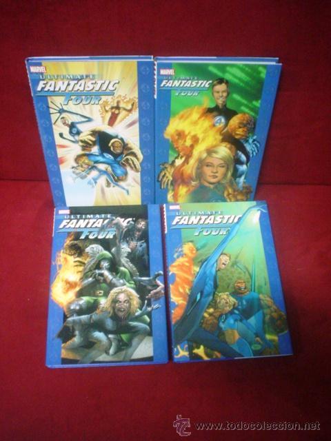 ULTIMATE FANTASTIC FOUR 4 VOLS. (HARDCOVER) (Tebeos y Comics - Comics Lengua Extranjera - Comics USA)