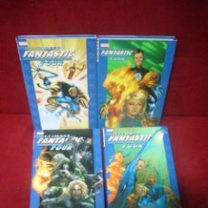 Cómics: ULTIMATE FANTASTIC FOUR 4 VOLS. (HARDCOVER). Lote 43473324