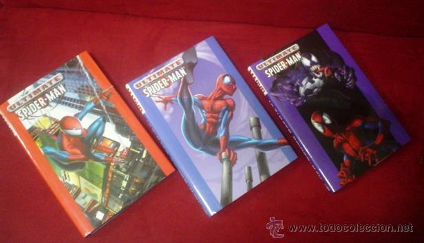 ULTIMATE SPIDERMAN VOLS.1,2 Y 3 (HARDCOVER) (Tebeos y Comics - Comics Lengua Extranjera - Comics USA)