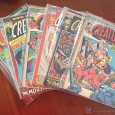 Cómics: CREATURES ON THE LOOSE MARVEL COMICS GROUP. Lote 43502136