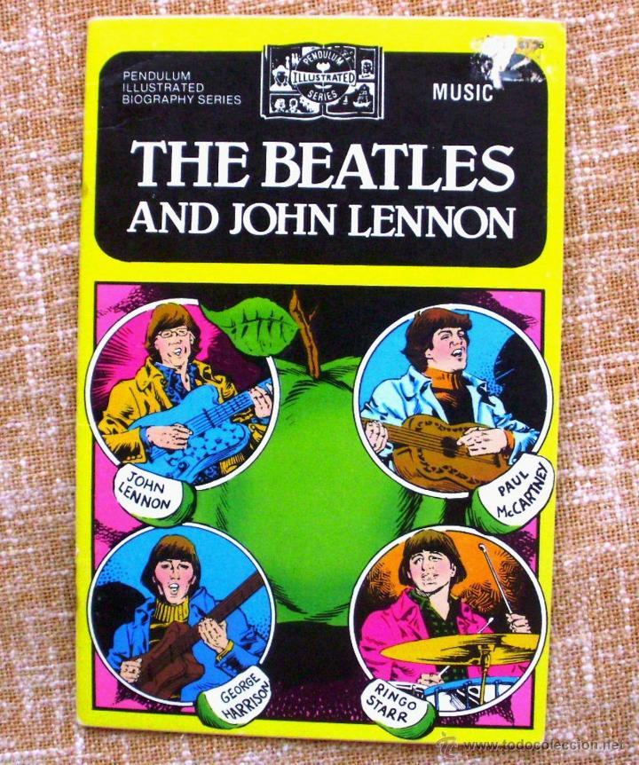 libro / comic the beatles and john lennon, año - Comprar