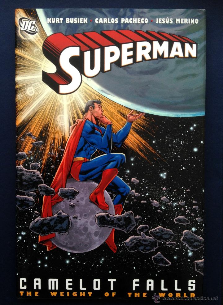 CÓMIC SUPERMAN CAMELOT FALLS K BUSIEK CARLOS PACHECO JESUSMERINO TAPA DURA SOBRECUBIERTA EN INGLÉS (Tebeos y Comics - Comics Lengua Extranjera - Comics USA)