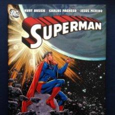 Cómics: CÓMIC SUPERMAN CAMELOT FALLS K BUSIEK CARLOS PACHECO JESUSMERINO TAPA DURA SOBRECUBIERTA EN INGLÉS. Lote 43600222