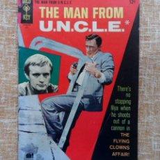 Cómics: THE MAN FROM U.N.C.L.E. COMIC, NÚMERO 13, MES JULIO, AÑO 1967, K.K. PUBLICACIONES, GOLD KEY. Lote 43809986