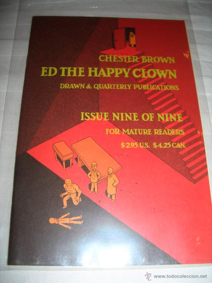ED THE HAPPY CLOWN #9 (DRAWN & QUATERLY) (Tebeos y Comics - Comics Lengua Extranjera - Comics USA)