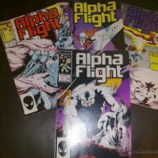 Cómics: MARVEL ALPHA FLIGHT 45,46, 47 ,48. Lote 44624592
