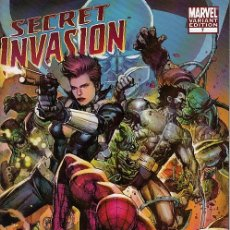 Cómics: SECRET INVASION # 7 (MARVEL,2008) - VARIANT COVER - LEINIL FRANCIS YU. Lote 44735182