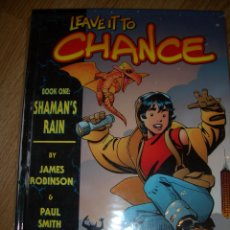 Cómics: LEAVE IT TO CHANCE HC #1 SHAMAN TEARS (IMAGE, 2002). Lote 45415879