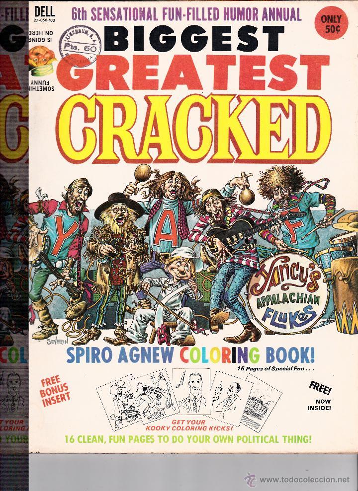MAD -BIGGEST GREATEST CRACKED- (Tebeos y Comics - Comics Lengua Extranjera - Comics USA)