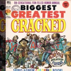 Cómics: MAD -BIGGEST GREATEST CRACKED-. Lote 45484525