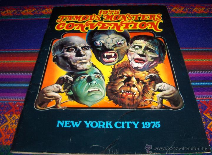 1975 FAMOUS MONSTERS CONVENTION, NEW YORK CITY. WARREN COMPANY. BUEN ESTADO. MUY, MUY RARO!! (Tebeos y Comics - Comics Lengua Extranjera - Comics USA)