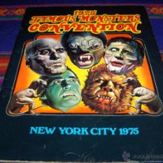 Cómics: 1975 FAMOUS MONSTERS CONVENTION, NEW YORK CITY. WARREN COMPANY. BUEN ESTADO. MUY, MUY RARO!!. Lote 45624965