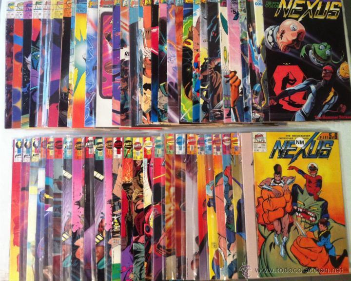 LOTE - NEXUS VOL.2 - 56 COMIC-BOOKS (FIRST COMICS,1983-1991) - MIKE BARON - STEVE RUDE (Tebeos y Comics - Comics Lengua Extranjera - Comics USA)