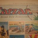 Cómics: TARZÁN DE BURNE HORGARTH, HOJA DEL PERÍODICO DOMINICAL DE 1943, ESPLÉNDIDO ESTADO. Lote 46001261