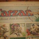 Cómics: TARZÁN DE BURNE HORGARTH, HOJA DEL PERÍODICO DOMINICAL DE 1943, ESPLÉNDIDO ESTADO. Lote 46001354