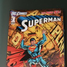 Cómics: SUPERMAN 1 DC THE NEW 52 EN INGLÉS. Lote 46229451