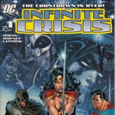 Cómics: COMPLETA - INFINITE CRISIS # 1 AL 7 (DC,2006) - JIM LEE COVERS. Lote 47024961