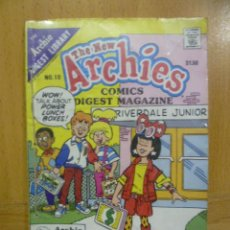 Cómics: THE ARCHIE DIGEST LIBRARY Nº 10, COMIC ORIGINAL AMERICANO, THE NEW ARCHIES. Lote 47392155