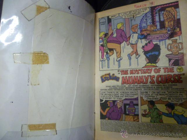 Cómics: THE ARCHIE DIGEST LIBRARY Nº 10, COMIC ORIGINAL AMERICANO, THE NEW ARCHIES - Foto 2 - 47392155