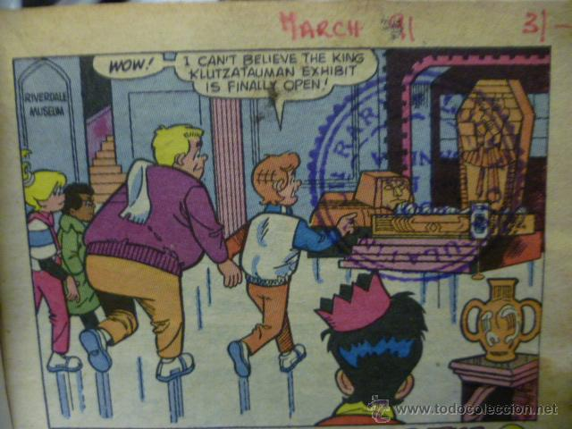 Cómics: THE ARCHIE DIGEST LIBRARY Nº 10, COMIC ORIGINAL AMERICANO, THE NEW ARCHIES - Foto 3 - 47392155