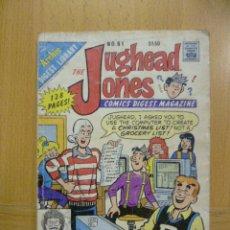 Cómics: THE ARCHIE DIGEST LIBRARY Nº 61 - JUGHEAD JONES, COMIC ORIGINAL AMERICANO, COMICS DIGEST MAGAZINE. Lote 47392317