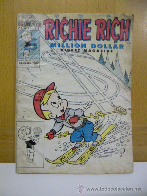 RICHIE RICH - MILLON DOLLAR -, COMIC ORIGINAL AMERICANO, COMICS DIGEST MAGAZINE (Tebeos y Comics - Comics Lengua Extranjera - Comics USA)