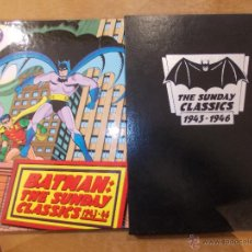 Cómics: BATMAN-THE SUNDAY CLASSICS 1943-1946-TOMO CON CAJA-1991-210 PAGINAS. Lote 48195387