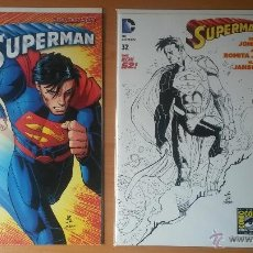 Cómics: LOTE SUPERMAN #32 NEW 52 (ROMITA JR., JOHNS). Lote 48416998