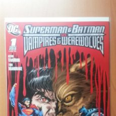 Cómics: SUPERMAN BATMAN VS VAMPIRES WEREWOLVES #1 (SUPERMAN BATMAN VS VAMPIROS HOMBRES LOBO). Lote 48417113