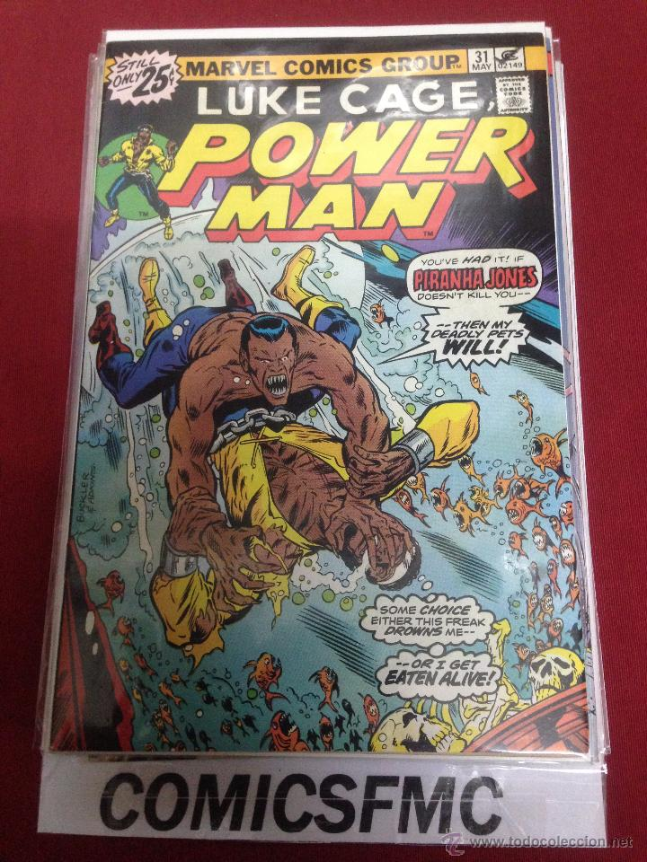 MARVEL COMICS - LUKE CAGE POWER MAN - NUMERO 31 (Tebeos y Comics - Comics Lengua Extranjera - Comics USA)