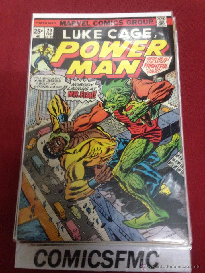 MARVEL COMICS - LUKE CAGE POWER MAN - NUMERO 29 (Tebeos y Comics - Comics Lengua Extranjera - Comics USA)