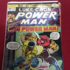 Cómics: MARVEL COMICS - LUKE CAGE POWER MAN - NUMERO 21. Lote 48601379