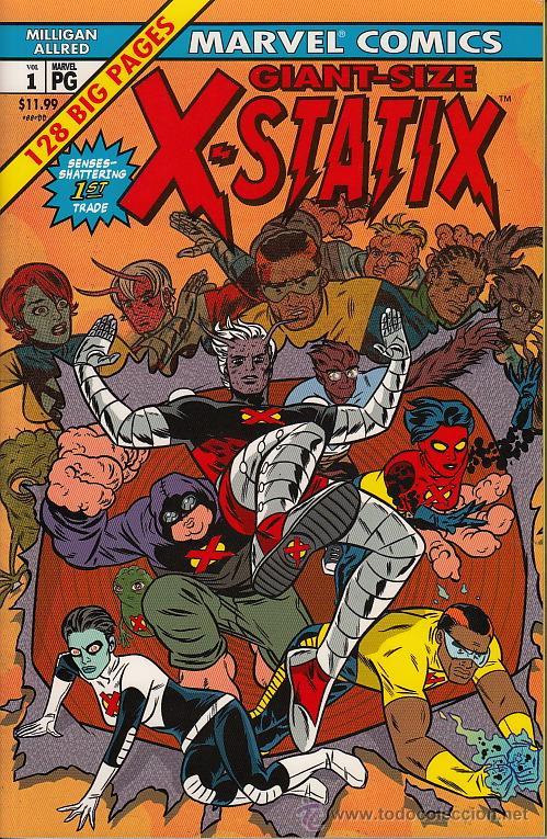X-STATIX TPB # 1 - GOOD OMENS (MARVEL,2003) - MIKE ALLRED (Tebeos y Comics - Comics Lengua Extranjera - Comics USA)