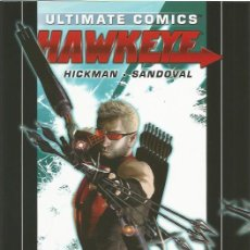 Cómics: ULTIMATE COMICS HAWKEYE HC # 1 (MARVEL,2012) - HICKMAN - RAFA SANDOVAL. Lote 49248139