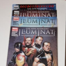 Cómics: THE NEW AVENGERS ILLUMINATI VOLUMEN 1 COMPLETA DEL 1 AL 5 MARVEL ORIGINAL EN INGLES. Lote 50313424