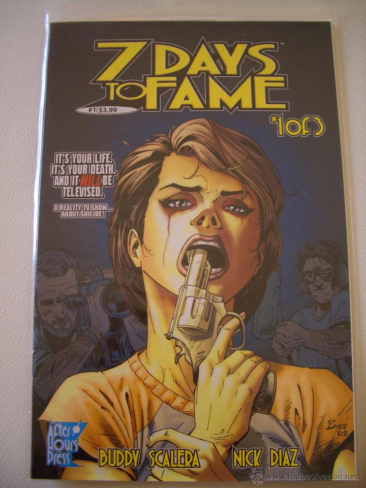 7 DAYS OF FAME (AFTERHOURS PRESS, 2005) (Tebeos y Comics - Comics Lengua Extranjera - Comics USA)