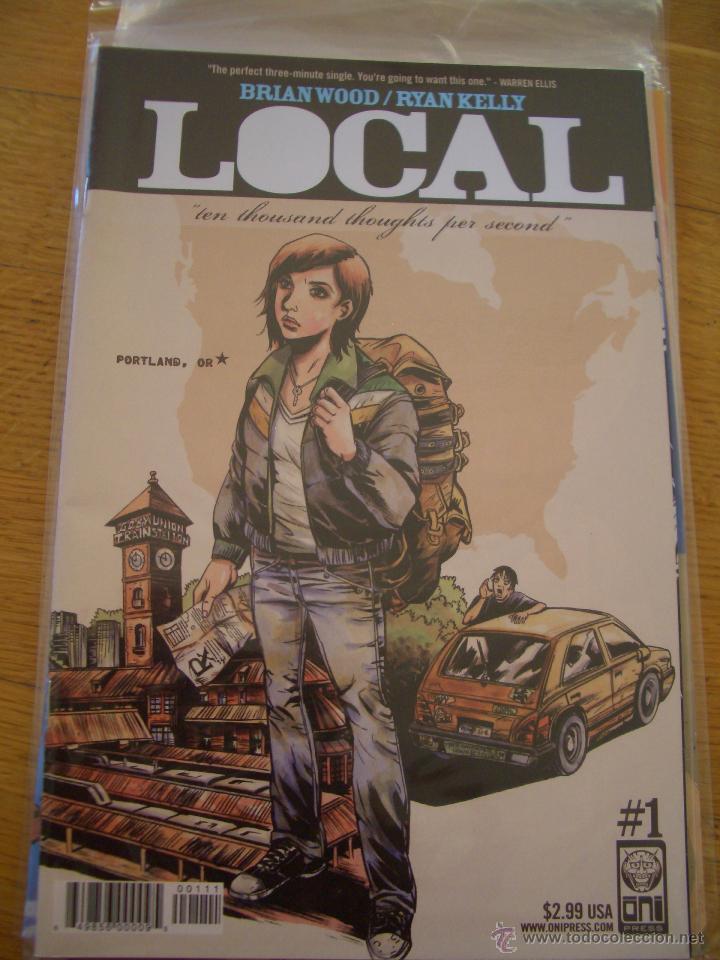 LOCAL #1 (ONI PRESS, 2005) (Tebeos y Comics - Comics Lengua Extranjera - Comics USA)