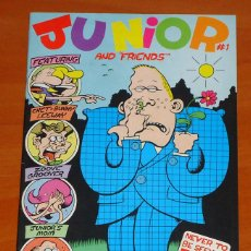 Cómics: PETTER BAGGE - JUNIOR AND ''FRIENDS'' - NO. 1 (ORIGINAL EN INGLÉS). Lote 50432001
