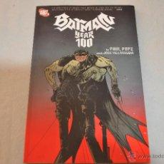 Cómics: BATMAN YEAR 100. Lote 50452565