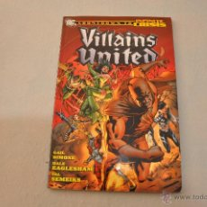 Cómics: VILLAINS UNITED COUNTDOWN TO INFINITE CRISIS. Lote 50460648