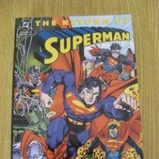 Cómics: THE RETURN OF SUPERMAN - DC COMICS - 480 PAGINAS - 1993 - IMPORTACIÓN USA - INGLÉS. Lote 50514067