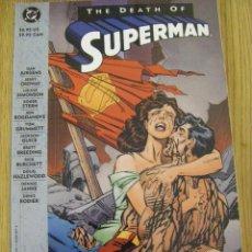 Cómics: THE DEATH OF SUPERMAN TPB (DC,1993) - LA MUERTE DE SUPERMAN - IMPORTACIÓN USA. Lote 50514229