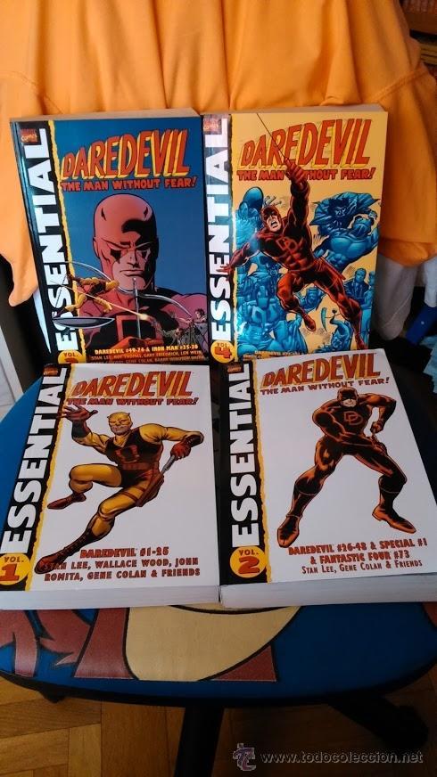 ESSENTIAL DAREDEVIL Nº 1-2-3-4 (Tebeos y Comics - Comics Lengua Extranjera - Comics USA)