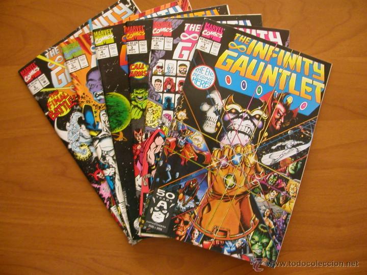 infinity gauntlet 1-6. marvel comics. original - verkauft durch